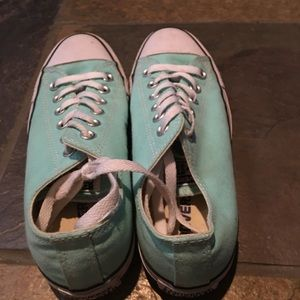 Converse Shoes - Women s converse size 7 in sea foam green 81bfaa401